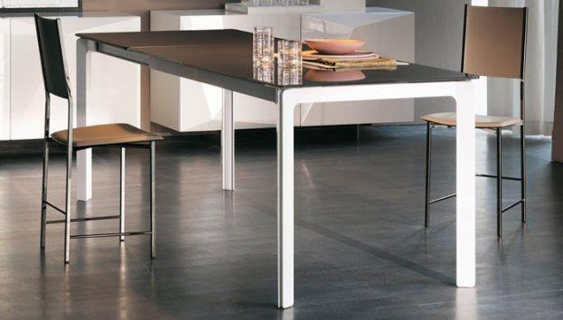 Cattelan italia tisch ausziehbar zeno 120x80 tische for Tisch ausziehbar 120x80
